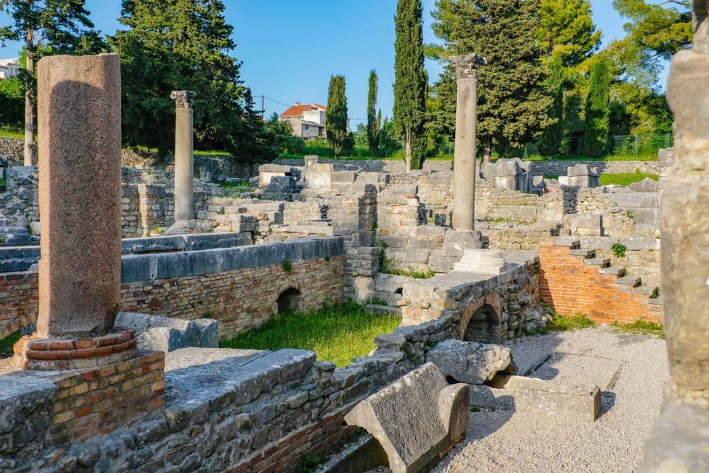 Manastirine, Solin, Salona. Dagtrip vanuit Split