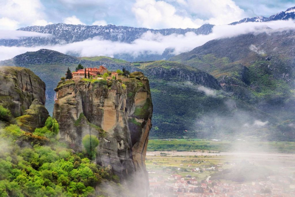 Drievuldigheidsklooster, Holy Trinity monastery Meteora, James Bond
