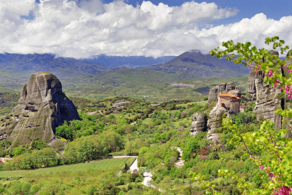 Meteora kloosters, werelderfgoed in Griekenland
