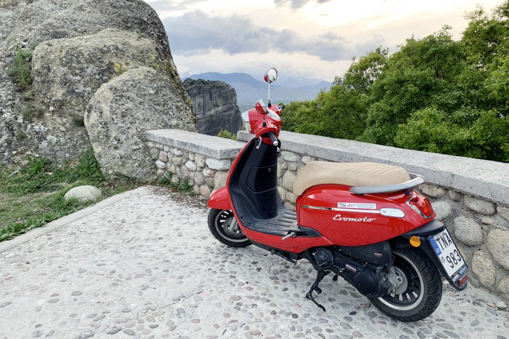 Scooter huren in Meteora