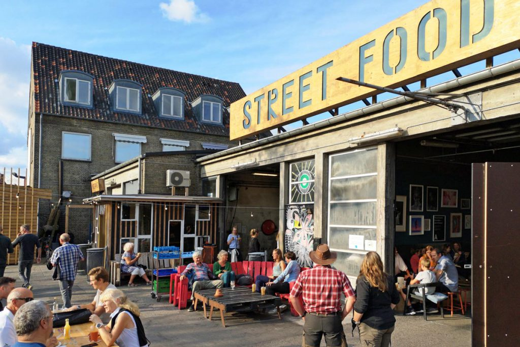 Street Food Aarhus Denemarken