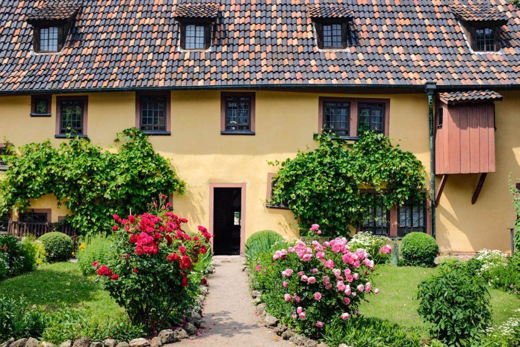 Bachhaus Eisenach Thüringen - Reislegende.nl