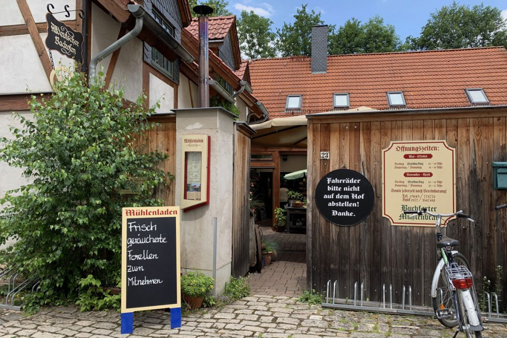 Duitse bakkerij Buchfart Weimarer Land Thüringen - Reislegende.nl
