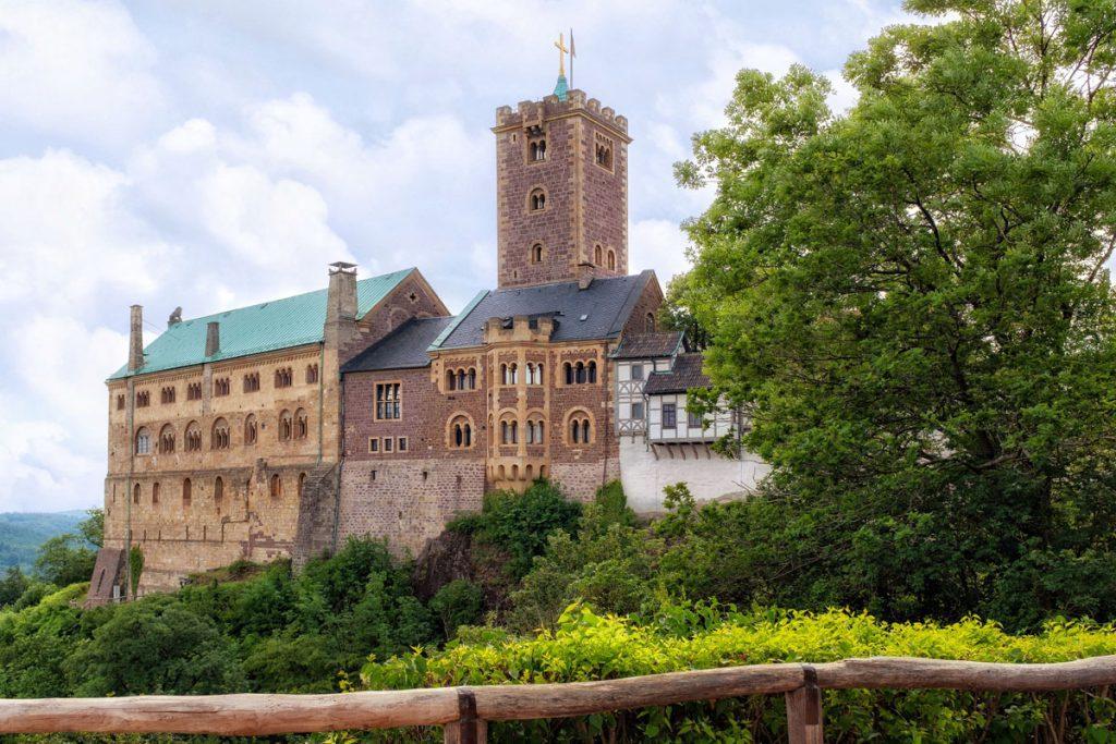 De Wartburg Eisenach Thüringen - Reislegende.nl