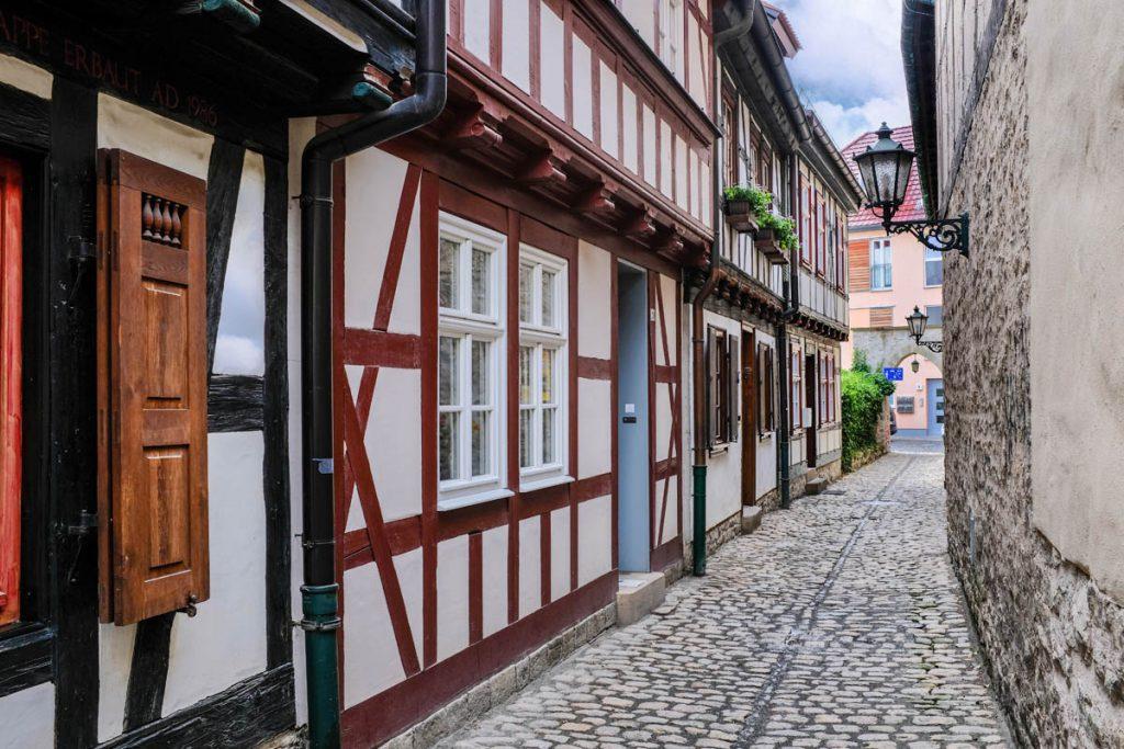 Erfurt Altstadt Thüringen - Reislegende.nl