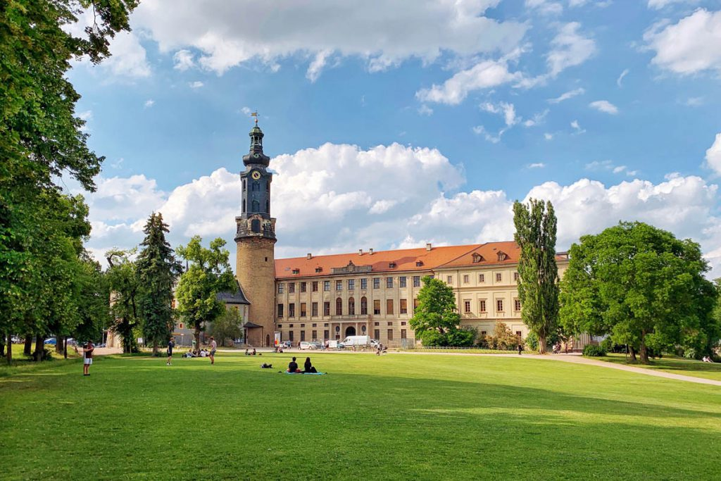 Park an der Ilm Slot Weimar Thüringen - Reislegende.nl