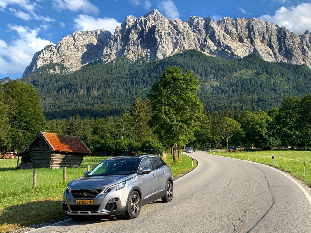 Autoroute door Tirol en Vorarlberg met de Peugeot 3008 SUV - Reislegende.nl