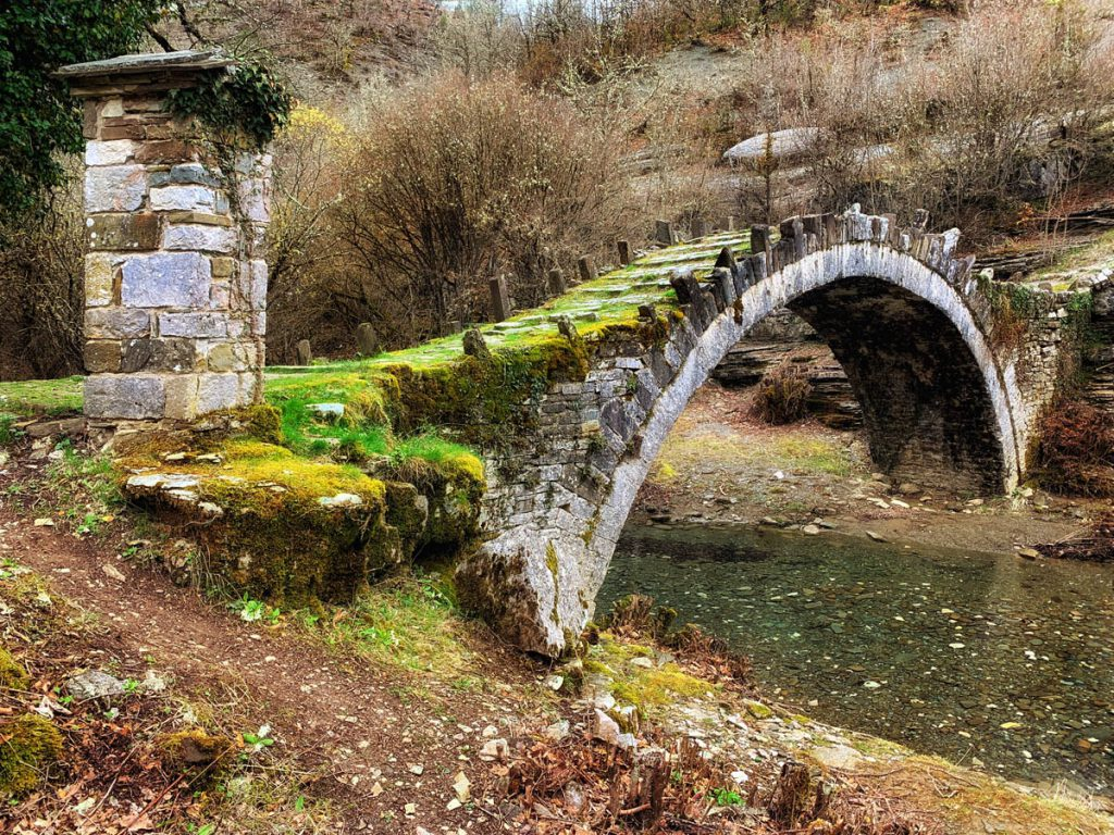 Captain Bear bridge Zagori - bruggen in Zagoria Griekenland - Reislegende.nl