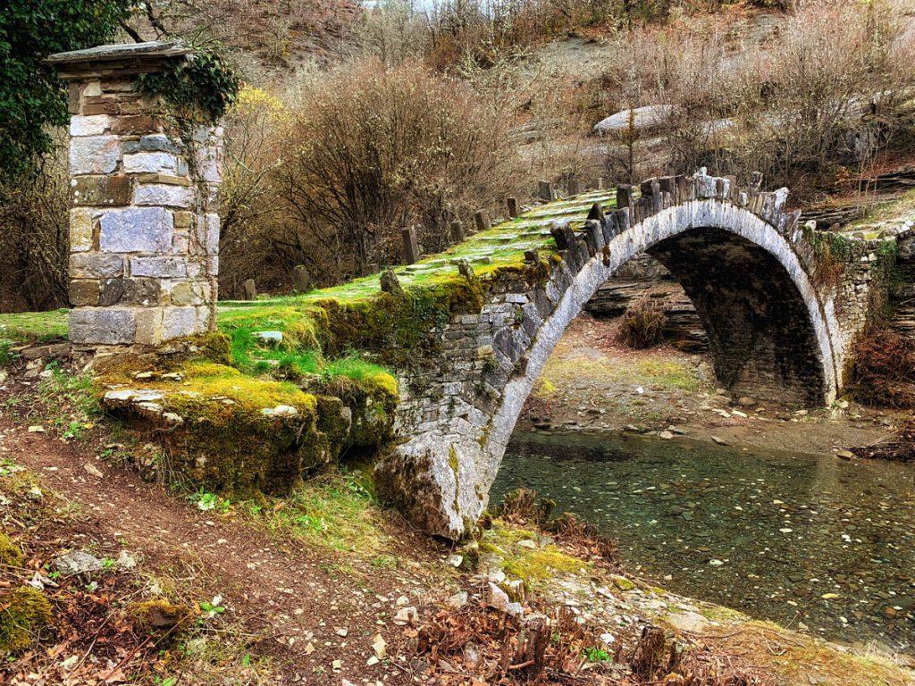 Captain Bear bridge Zagori - bruggen in Zagoria Griekenland - Reislegende.nl