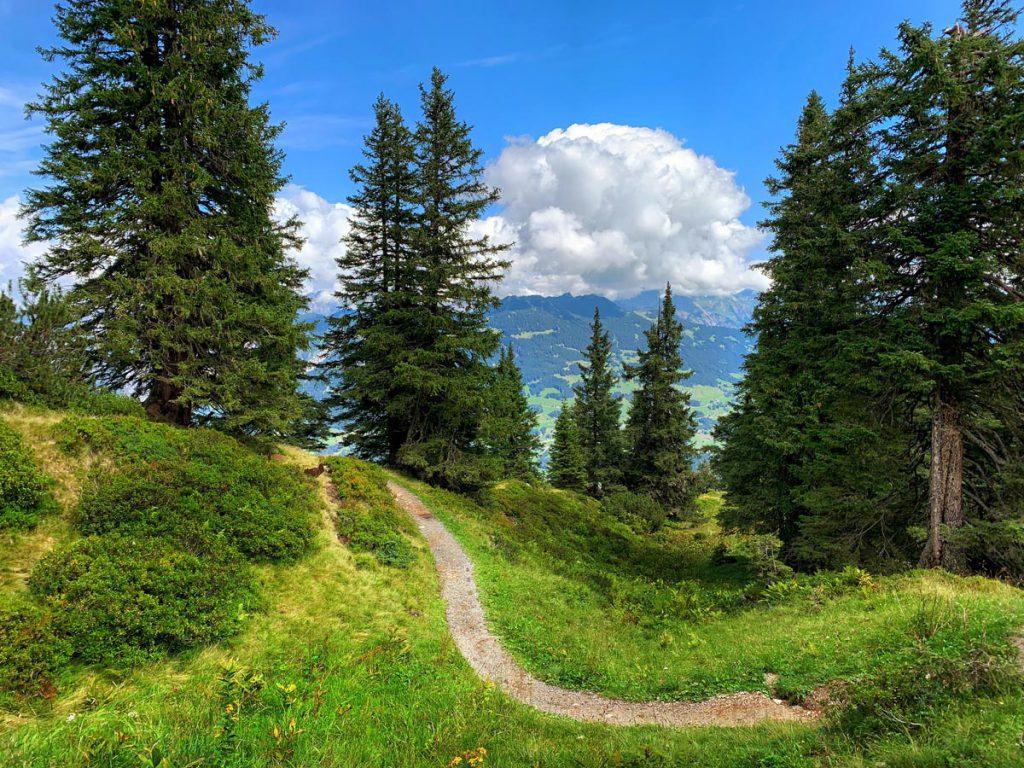 Wandelen op Golm in Montafon Autoroute door Tirol en Vorarlberg - Reislegende.nl
