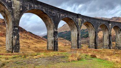 Glenfinnan viaduct Schotse hooglanden uitstapjes vanuit Landal Piperdam in Schotland - Reislegende.nl