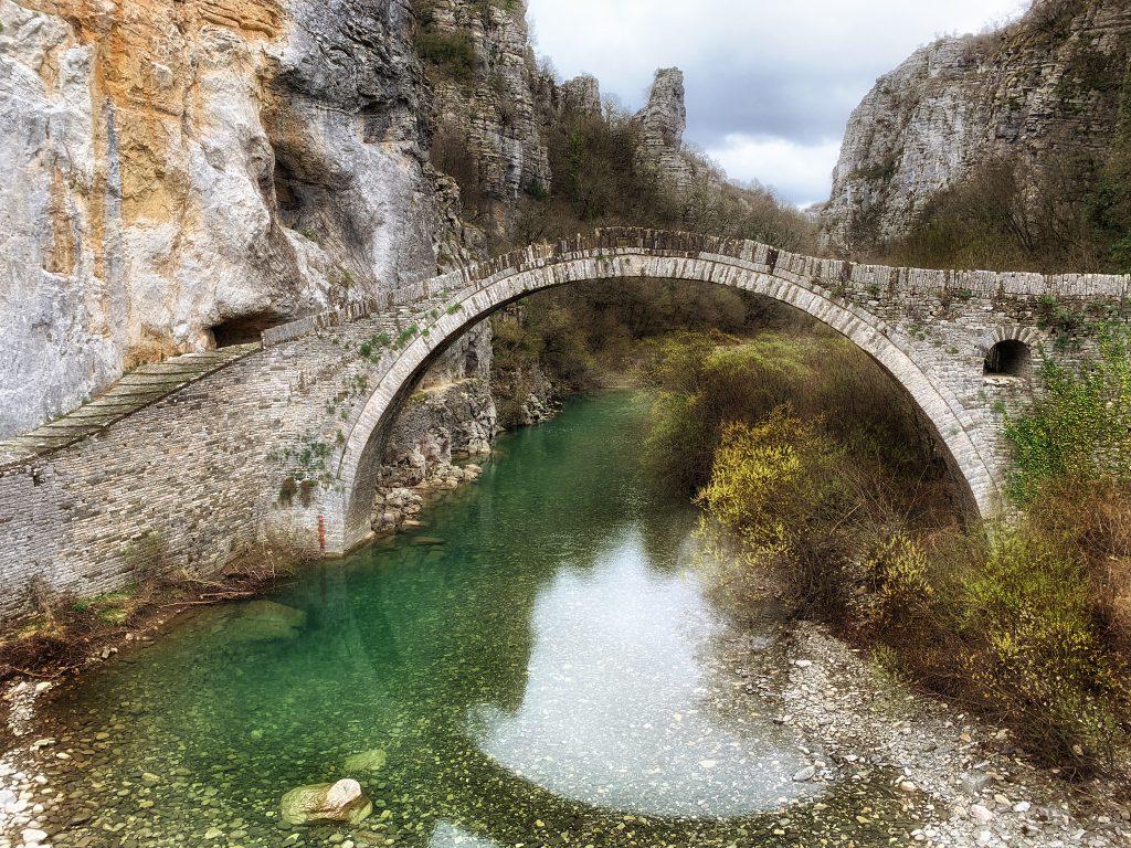 Kokori bridge, Noutsou bridge, Zagori - Bruggen in Zagoria, noord Griekenland - Reislegende.nl