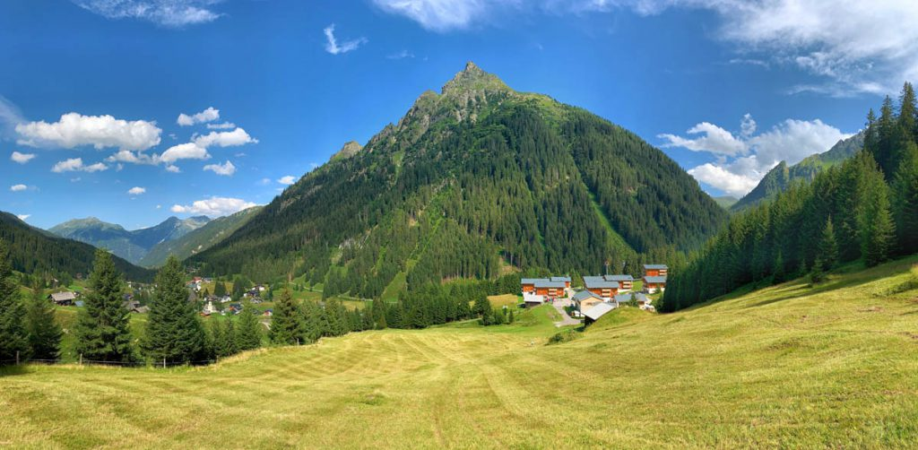 Landal Hochmontafon Autoroute door Tirol en Vorarlberg - Reislegende.nl