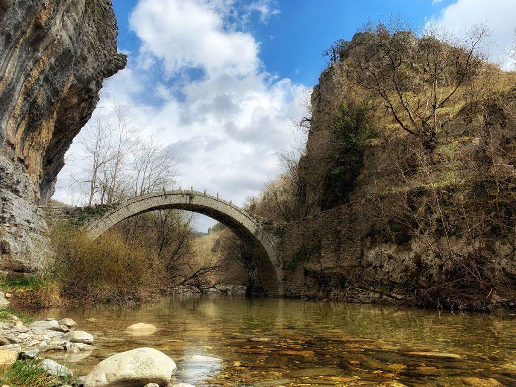 Lazaridi Kontodimou bridge Zagori - Bruggen in Zagoria, noord Griekenland - Reislegende.nl
