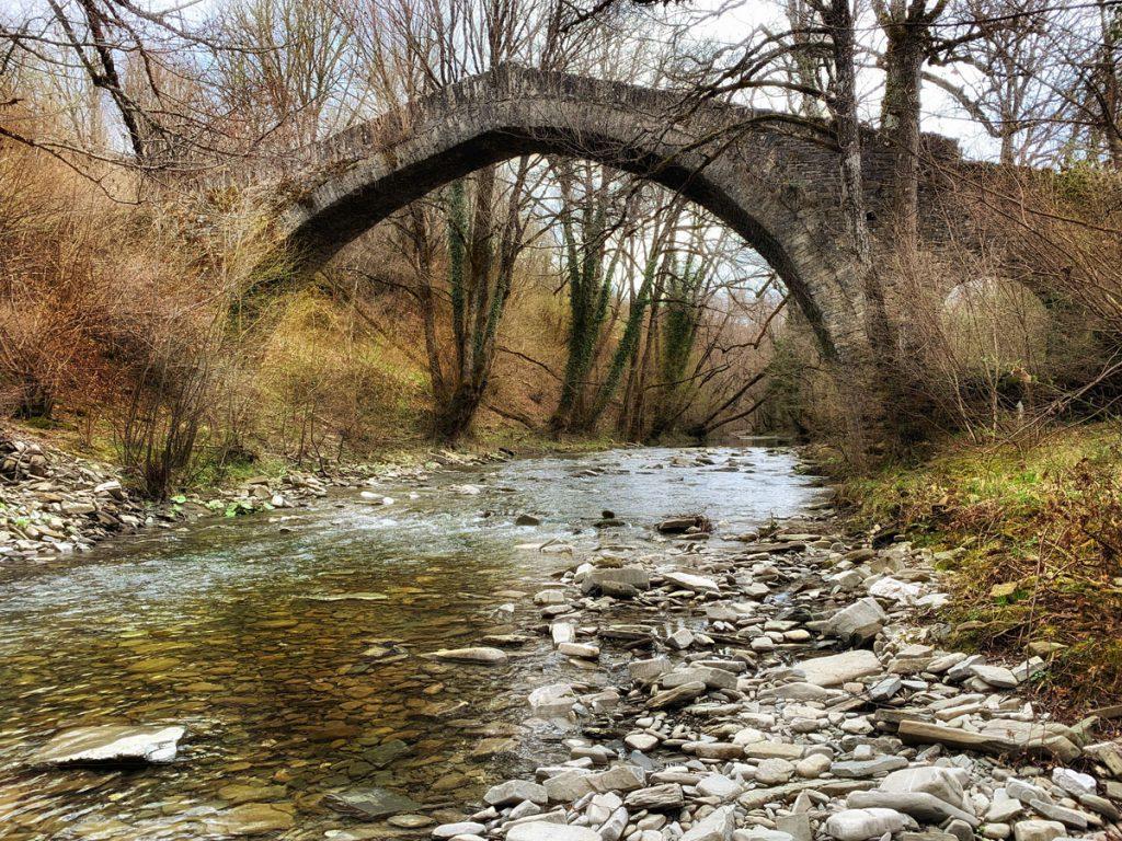 Petsioni bridge 1830 Zagori - Bruggen in Zagoria, noord Griekenland - Reislegende.nl