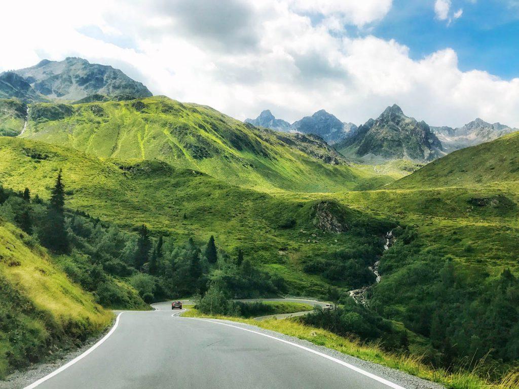 Silvretta hochalpenstrasse Autoroute door Tirol en Vorarlberg - Reislegende.nl