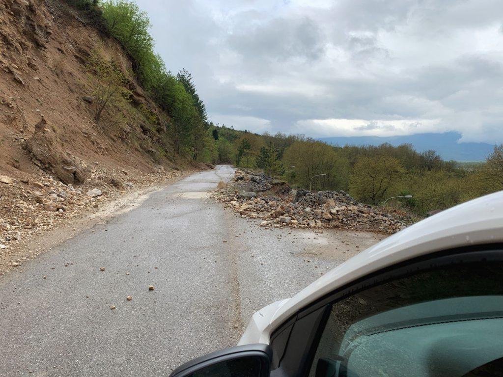 Slechte wegen in noorden van Griekenland, Zagoria - Reislegende.nl