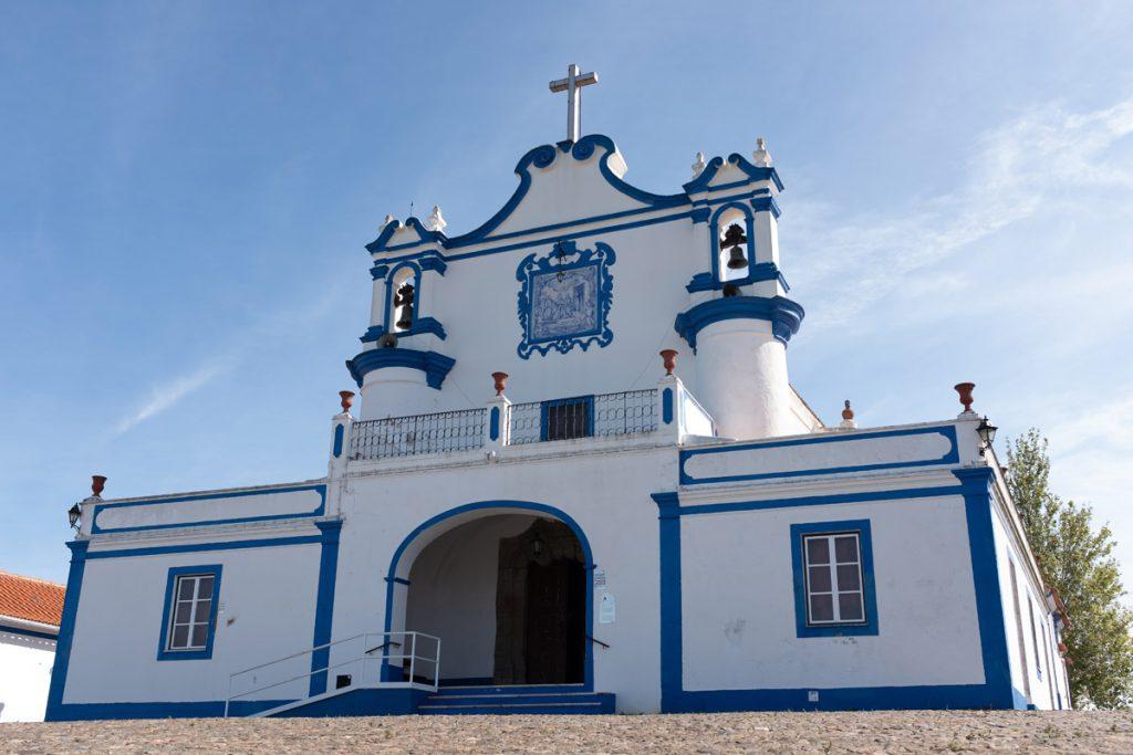 Ermida de Nossa Senhora da Visitação kerk in Montemor-o-Novo Alentejo Portugal - Reislegende.nl