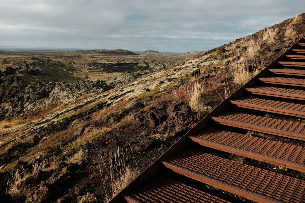 Snaefellsnes Saxhóll krater IJsland Reislegende - Reislegende.nl