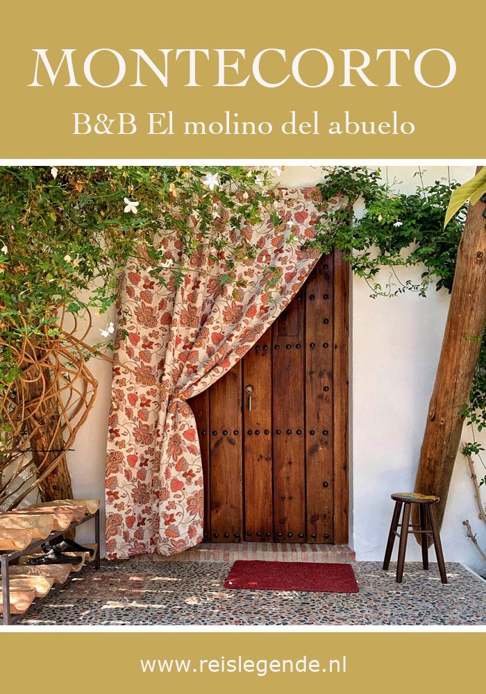 Tip overnachten Ronda: B&B El molino del abuelo in Montecorto - Reislegende.nl