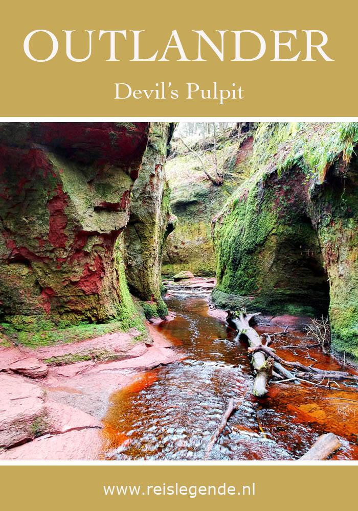 Devil's Pulpit: hoe je bij deze Outlander filmlocatie komt - Reislegende.nl