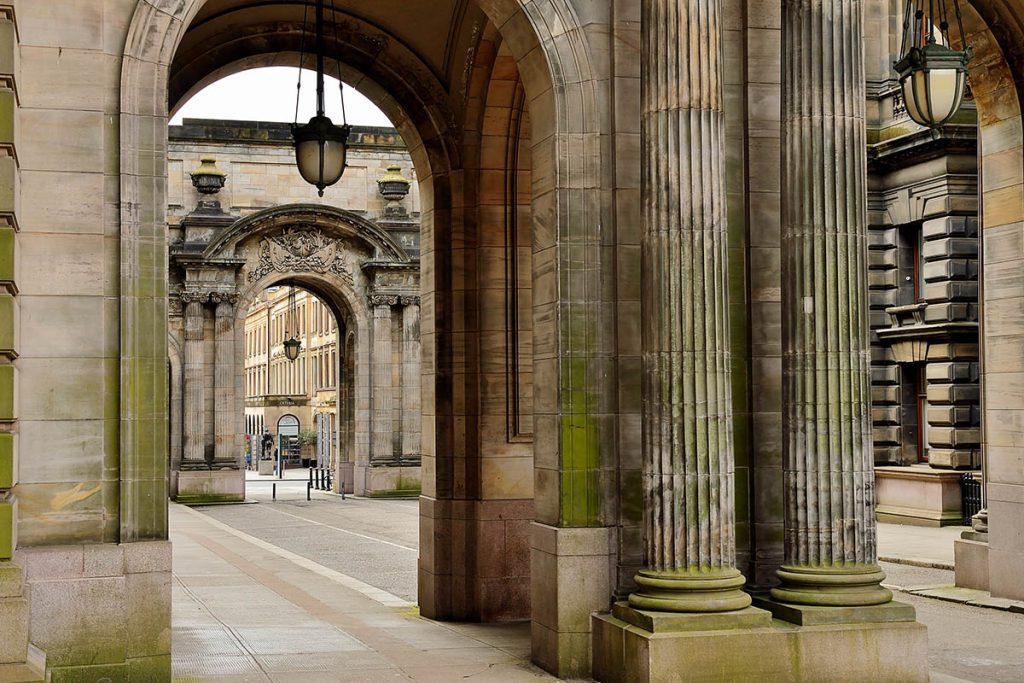 Glasgow City Chambers, John Street, Outlander filmlocatie - Reislegende.nl