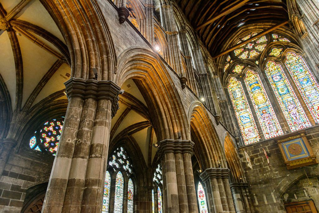 Glasgow Cathedral - Outlander filmlocaties - Reislgende.nl