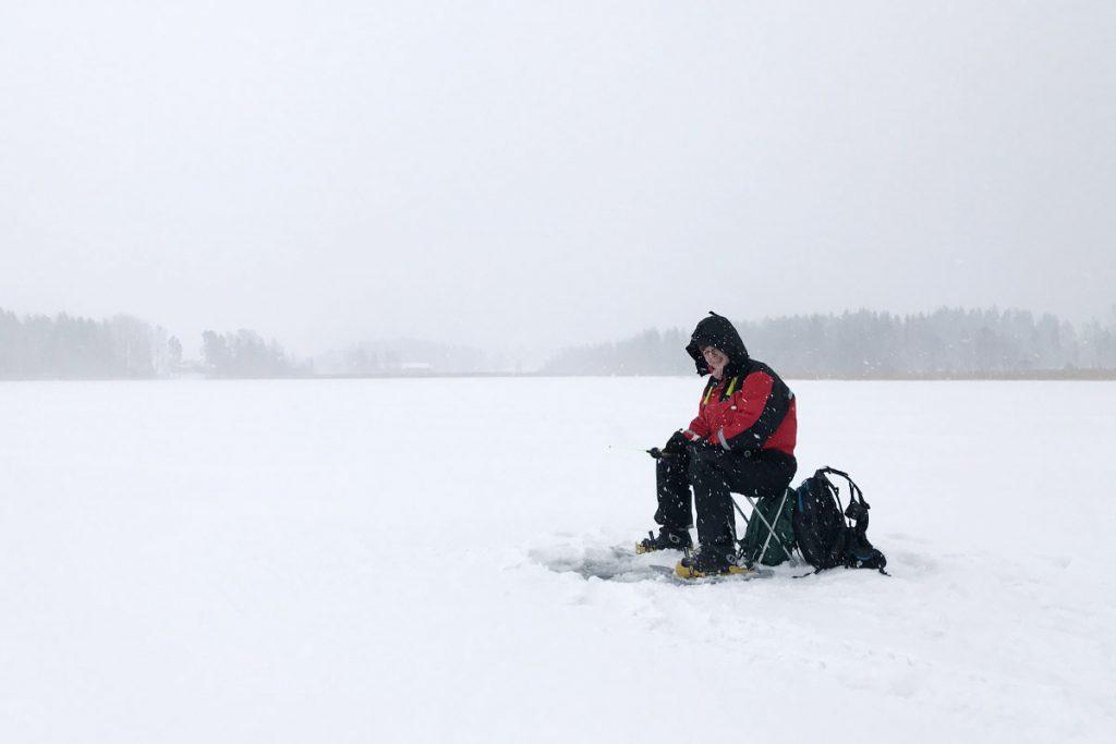 IJsvissen in zuid Finland Lakeland - Reislegende.nl