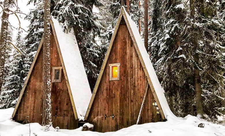 Photo of In de winter naar Lakeland in Finland