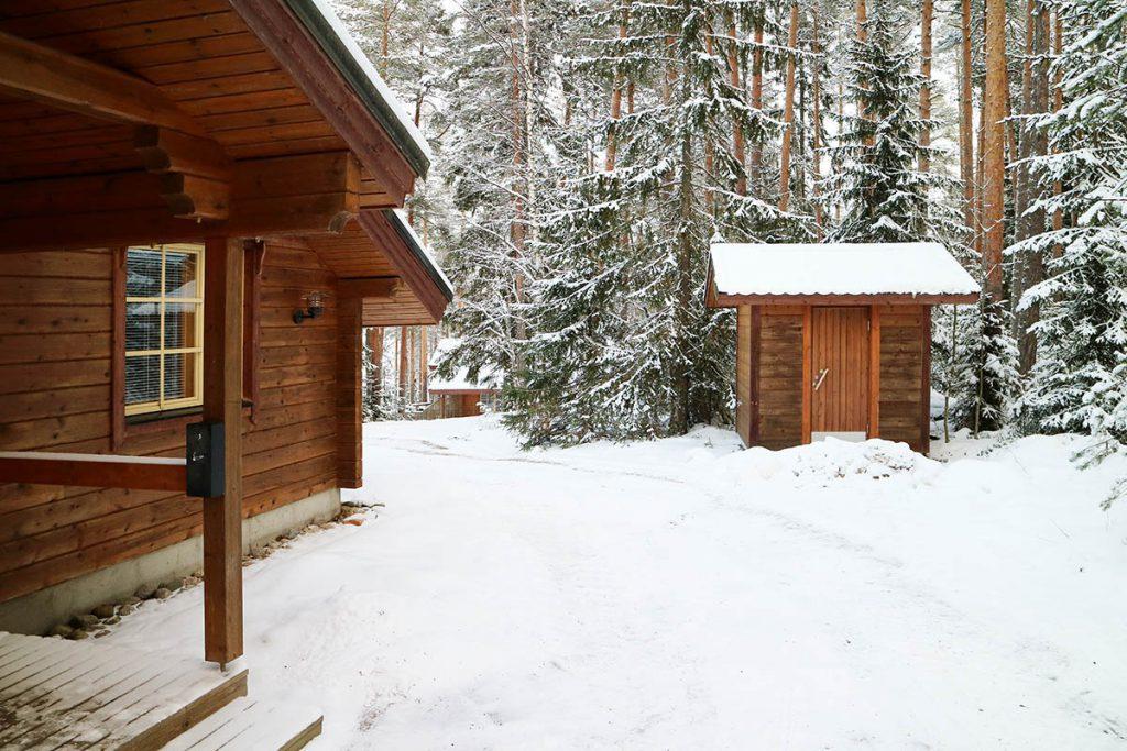 Lehmonkärki wooden cabin zuid Finland Lakeland - Reislegende.nl