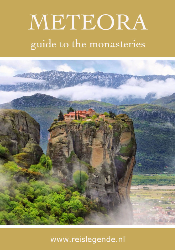 Meteora kloosters, werelderfgoed in Griekenland - Reislegende.nl