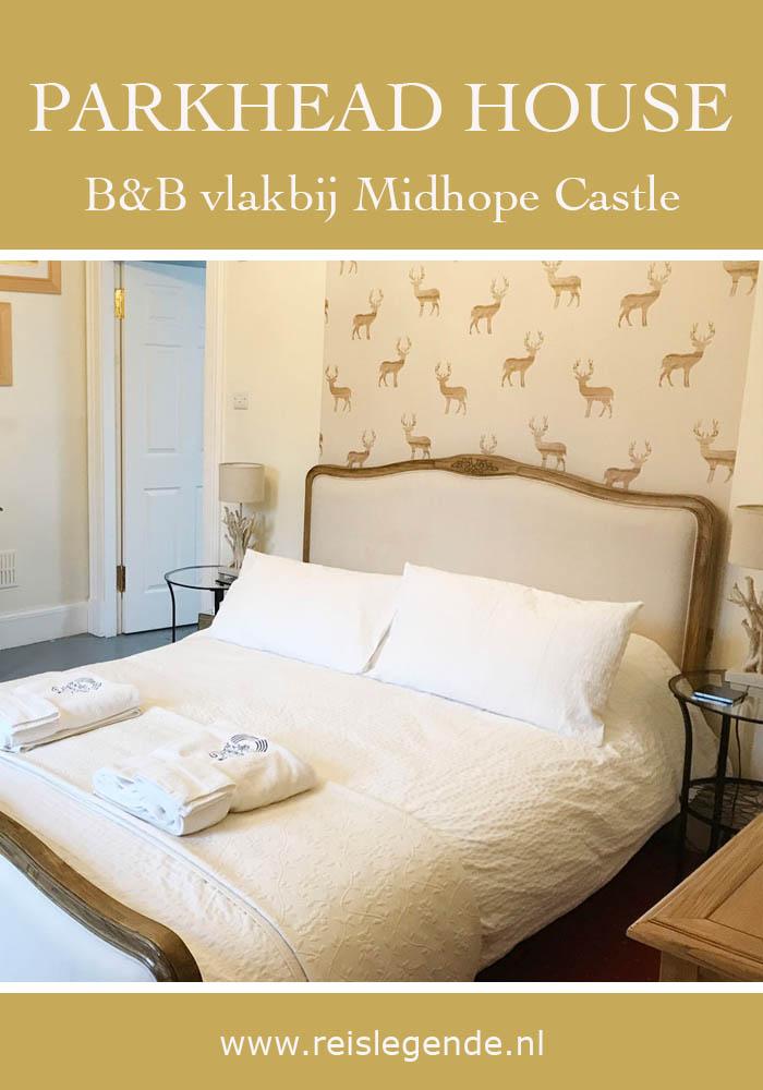 Slapen vlakbij Lallybroch uit Outlander in Parkhead House B&B - Reislegende.nl