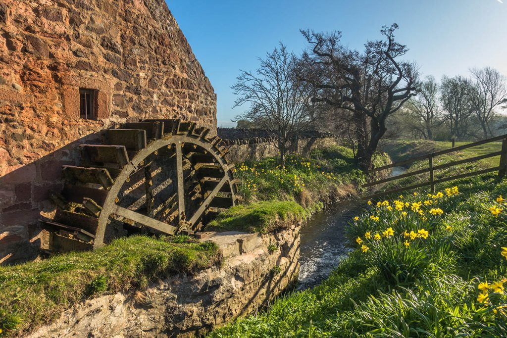 Preston Mill in East Linton, Outlander filmlocaties - Reislegende.nl