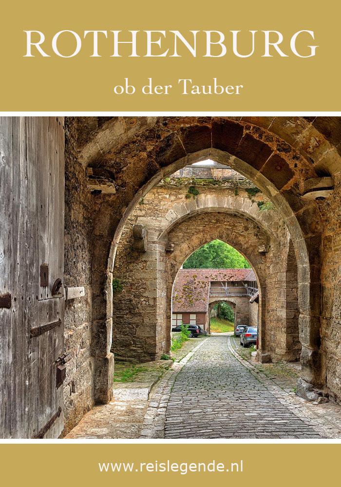 15 bezienswaardigheden in Rothenburg ob der Tauber - Reislegende.nl