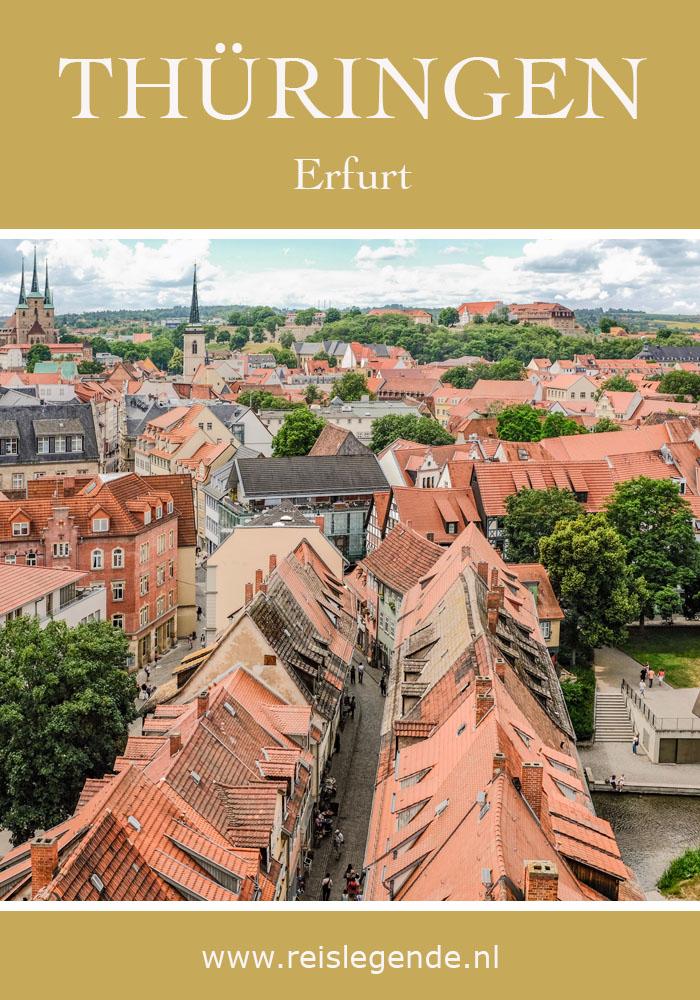 Thüringen Erfurt - Reislegende.nl