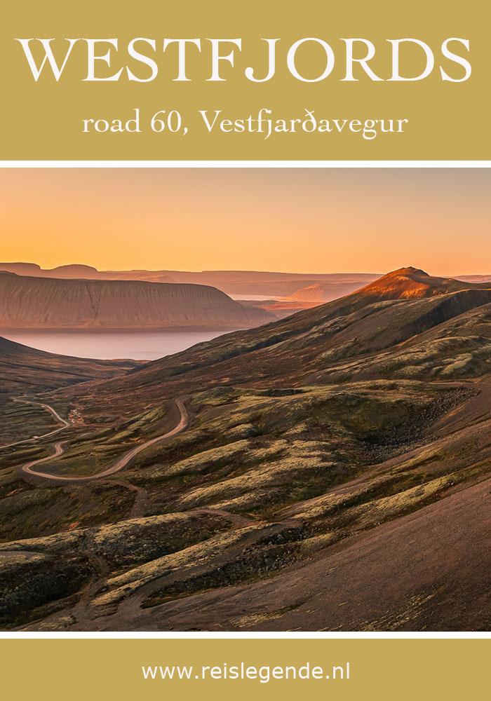 Hrafnseyrarheiði heath, road 60 - Wegen in de Westfjorden, hoe zit dat nou precies? - Reislegende.nl
