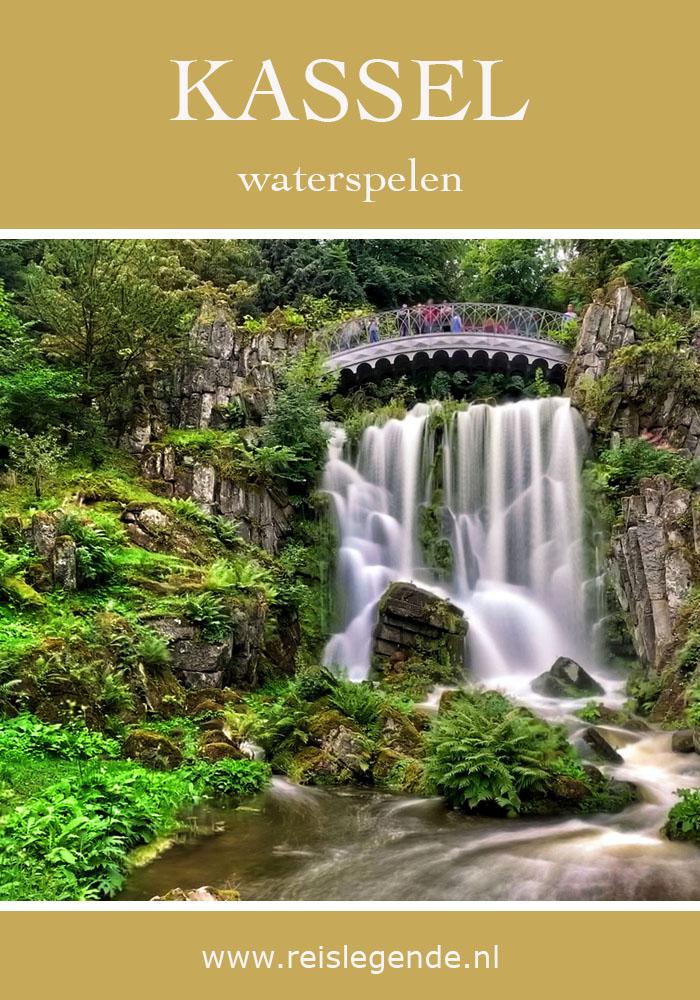 Waterspelen in Kassel, bergpark Wilhelmshöhe - Reislegende.nl