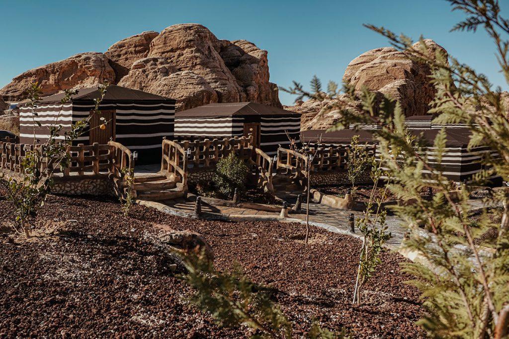 Seven Wonders Luxury Camp in Litte Petra - Reislegende.nl