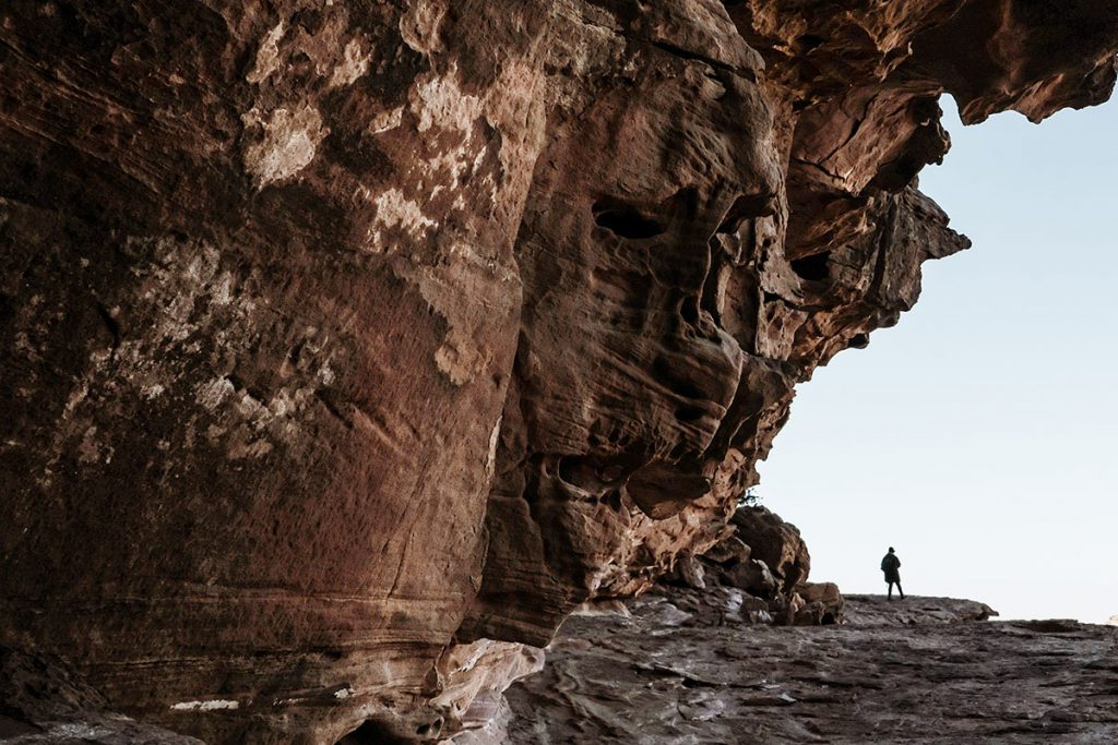 Petra via backdoor trail - Reislegende.nl