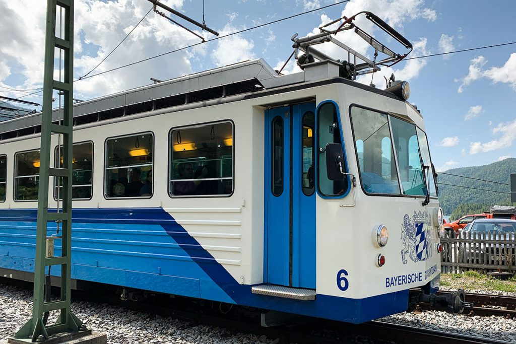 Trein naar top van Zugspitze - Reislegende.nl