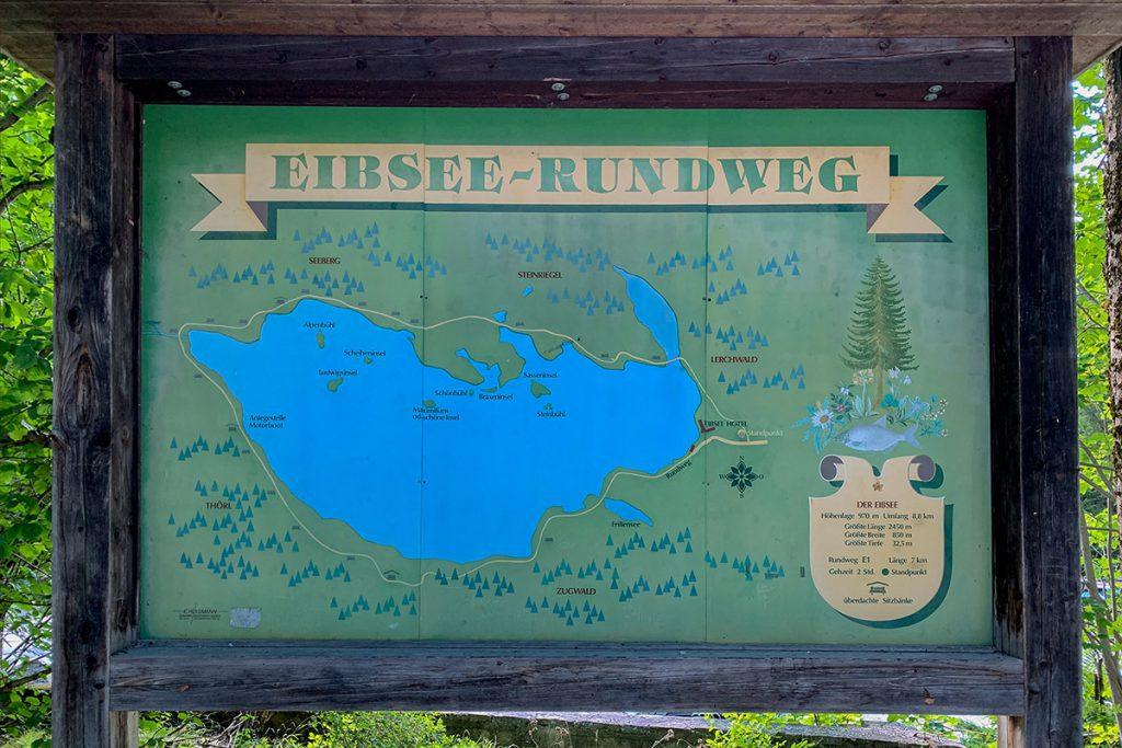 Wandeling om de Eibsee - Reislegende.nl