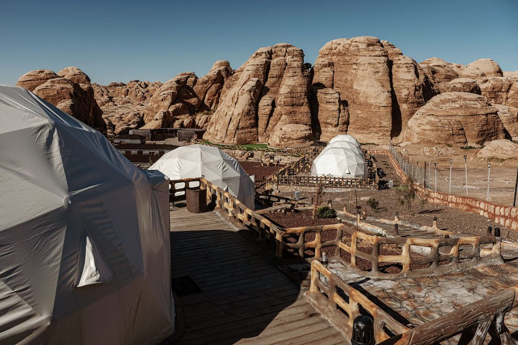 Seven Wonders Luxury Camp in Litte Petra - Reislegende.nl