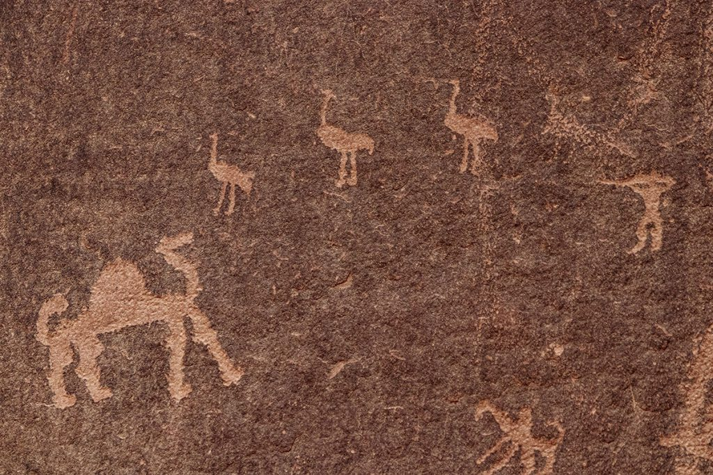 Anfishiyyeh inscriptions - Wadi Rum tips en bezienswaardigheden - Reislegende.nl