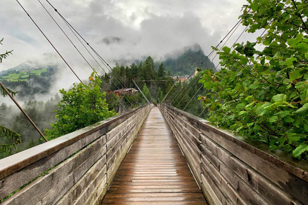 Benni Raich Brücke in Pitztal - Reislegende.nl