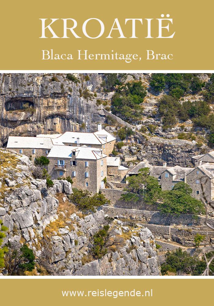 Blaca Monastery, UNESCO klooster op het Kroatische eiland Brac - Reislegende.nl