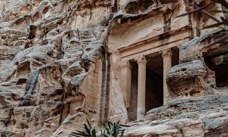 Photo of Little Petra (Siq al-Barid), hidden gem in Jordanië