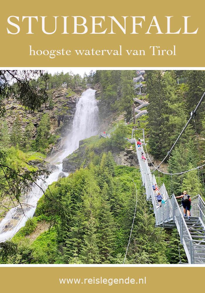 Wandelen naar Stuibenfall, hoogste waterval in Tirol - Reislegende.nl