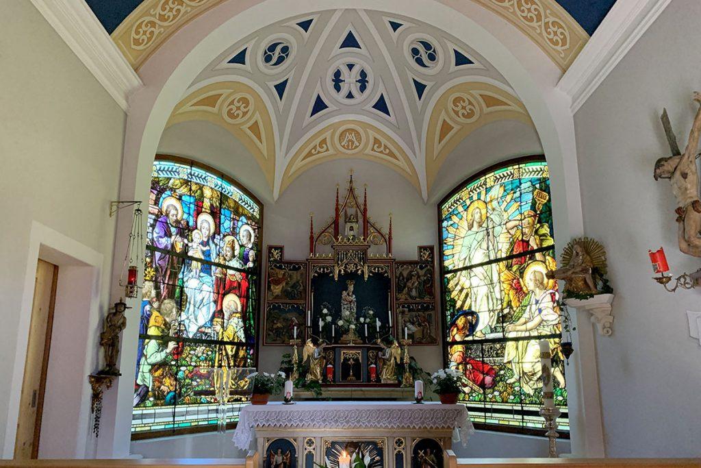 Maria Schnee kapel, Pfundser Tschey, één van de mooiste valleien van Oostenrijk - Reislegende.nl