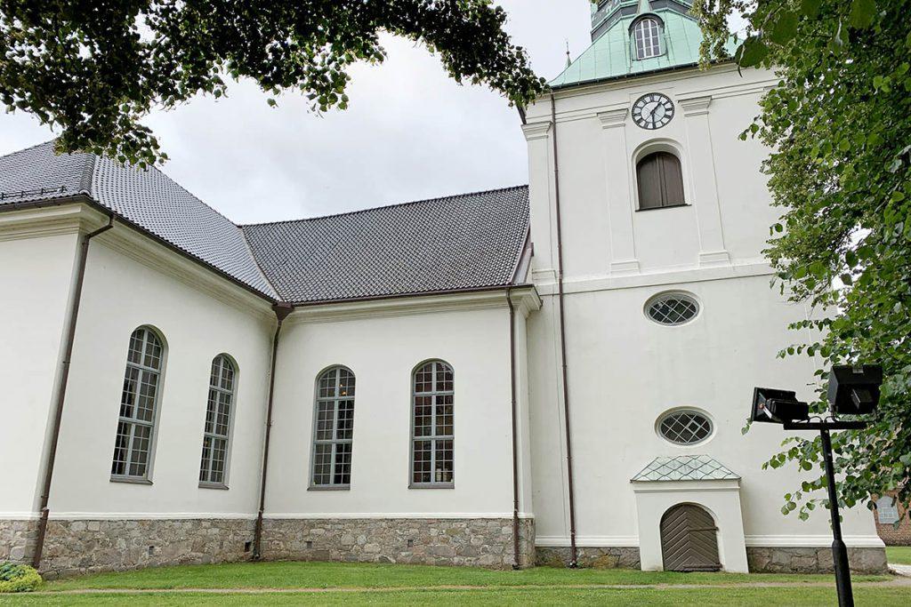 Fredrikstad Gamlebyen oude kerk - Reislegende.nl