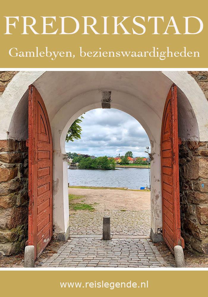 Gamlebyen Fredrikstad, perfect bewaarde vestingstad - Reislegende.nl
